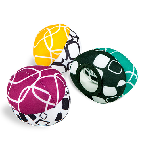 removable toy balls